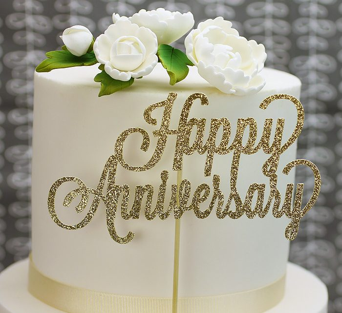 Basic ideas for wedding anniversary cakes